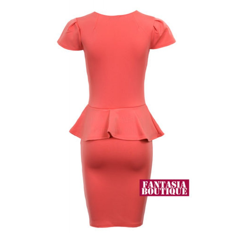 Coral Blouses For Ladies 58